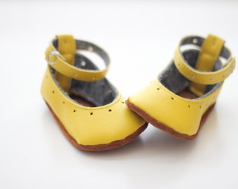 Natty Janes Leather Baby Shoe Pattern