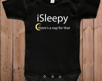 Funny baby clothes newborn baby clothes there's a nap for that gift for dad gift for mom baby gift idea baby bodysuit one piece romper