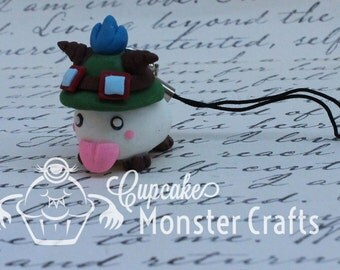 Adorable hand made league of legends teemo poro