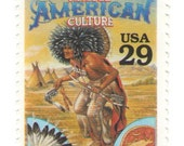 10 Unused 1994 Legends of the West: Native American Indian Culture - Vintage Postage Stamps Number 2869e