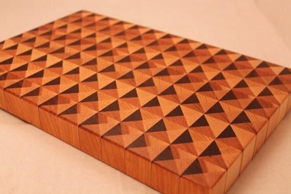 Amazing 3d Wood End Grain Cutting Board