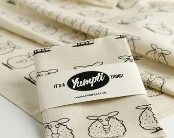 Black Sheep cotton Tea Towel