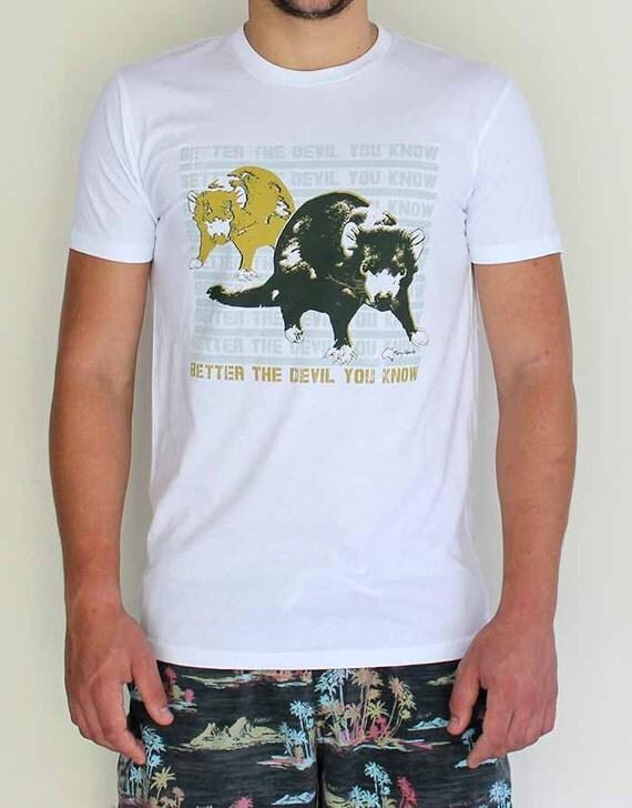 Tasmanian Devil Pop Art T Shirt For Boys And Men By Merry