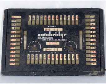 Dutch Vintage Autobridge game by Querido