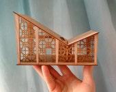 The Mini Butterfly in Cherry : An original miniature model