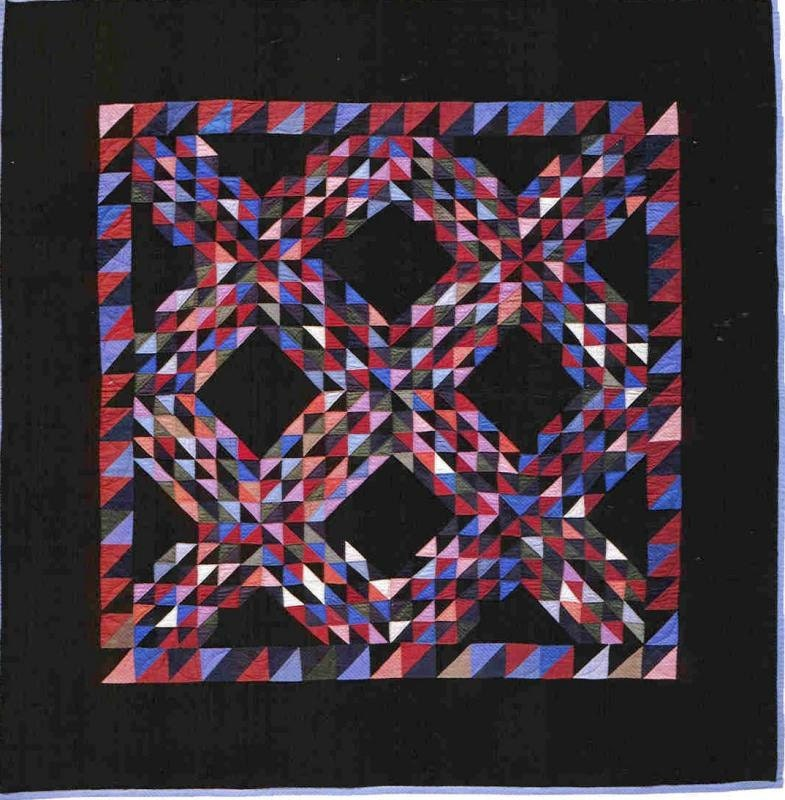 Amish Inspired Ocean Waves Quilt Kit