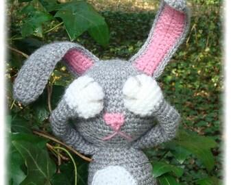 PDF Crochet - Lapinou des bois - Tiamat Creations