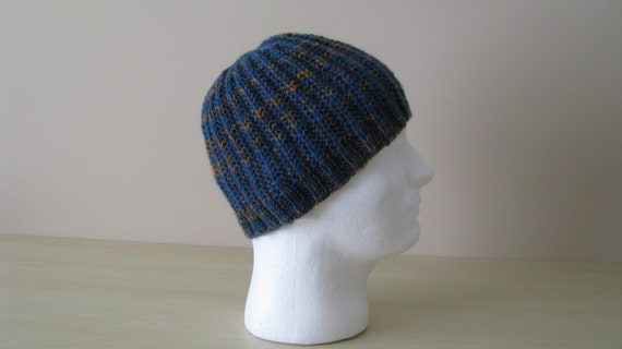 Mens Hat Pattern Ethan, Mens Knitted Hat Pattern, or Chem...