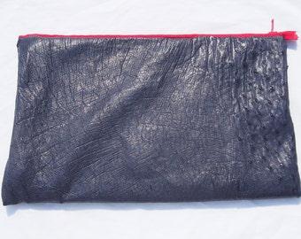 Portna handmade Ostrich leather Laptop Case for Apple Mac