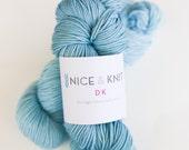 DK Weight Hand-Dyed Superwash Merino Wool Yarn : Cape Cod Colorway