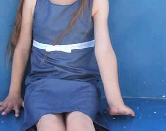 PDF Classic Dress Pattern, girls dress pattern, girls dress pattern pdf, easy girls dress pattern, pdf girls dress pattern