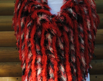 Hand knitted shawl made in South Africa