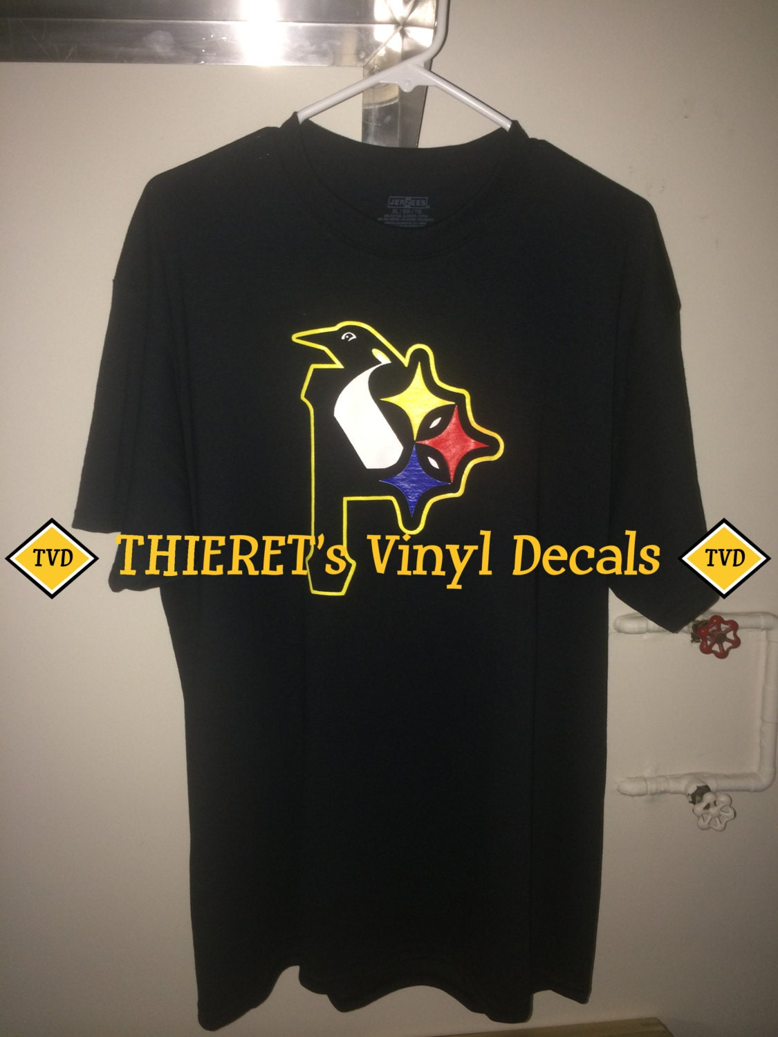 Pittsburgh Sports Teams Tri Logo T Shirt