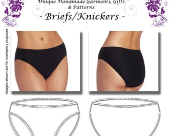 Basic Bikini Briefs/Knickers Pattern