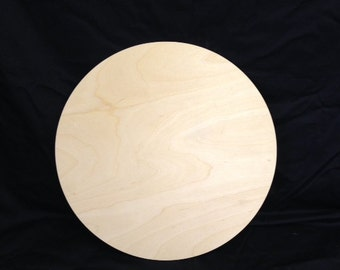 "16"" Wooden Circle Cutout, unfinished"
