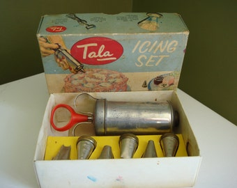 Vintage Tala Icing Set - Complete in Box