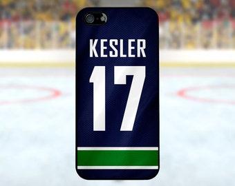 Ryan Kesler - Vancouver Canucks Case: iPhone 4/4S, 5/5S/SE, 5C, 6/6S, 6 plus/6S plus / Samsung Galaxy S3, S4, S5, S6, S7