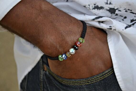 Mens Knotted Salvation Bracelet Prayer Beads Christian