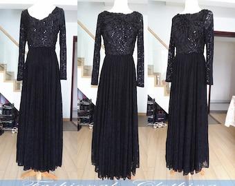 black dress white dress maxi dress spring dress autumn dress winter dress women clothing long sleeve party dress lace dress long full dress