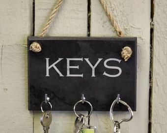 Slate Key Holder Organiser (SR36)