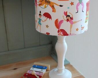 Circus Children's Lamp Shade