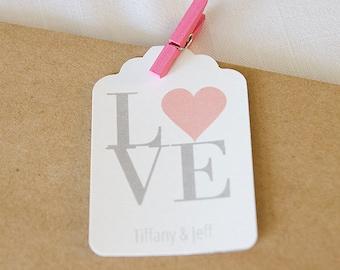Love Wedding Tags, Wedding Favor Tags, Wedding Favor Tags, Tags for Wedding Favors  (ST-023)