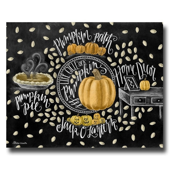 Pumpkin Art Fall Art Fall Decor Chalkboard Art Chalk Art