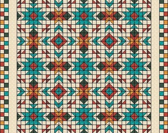 Southwest Quilt Pattern Native American / Indian : native american quilt - Adamdwight.com
