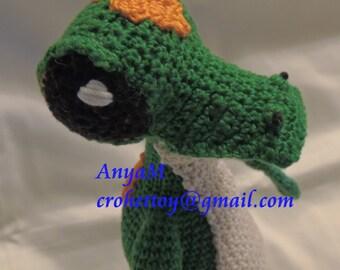 Gecko Crochet Pattern