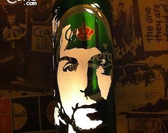 Paul McCartney Beer Can Lantern: The Beatles, Wings, Pop Art Portrait Lamp - Unique Gift!