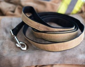 Firefighter Turnout Gear Fabric Dog Leash
