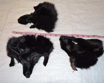 FOX Face dyed black