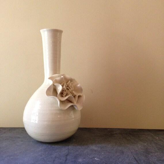 1980 Fitz And Floyd Flower Vase