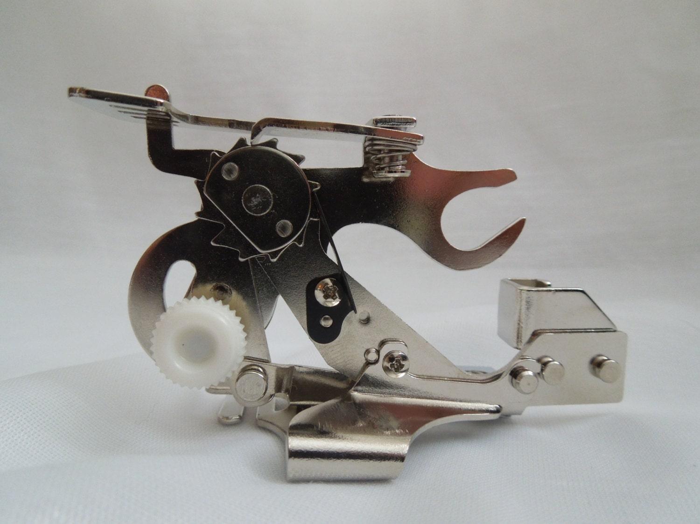 ruffler foot for sewing machine