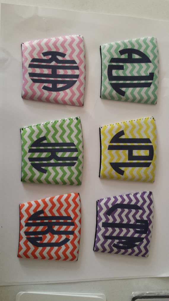 Coozie Set Of 6 Custom Solo Cup Coozie By Theperfecttouch4u
