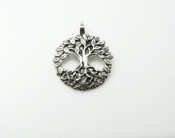 Sterling  Celtic Tree of Life Pendant