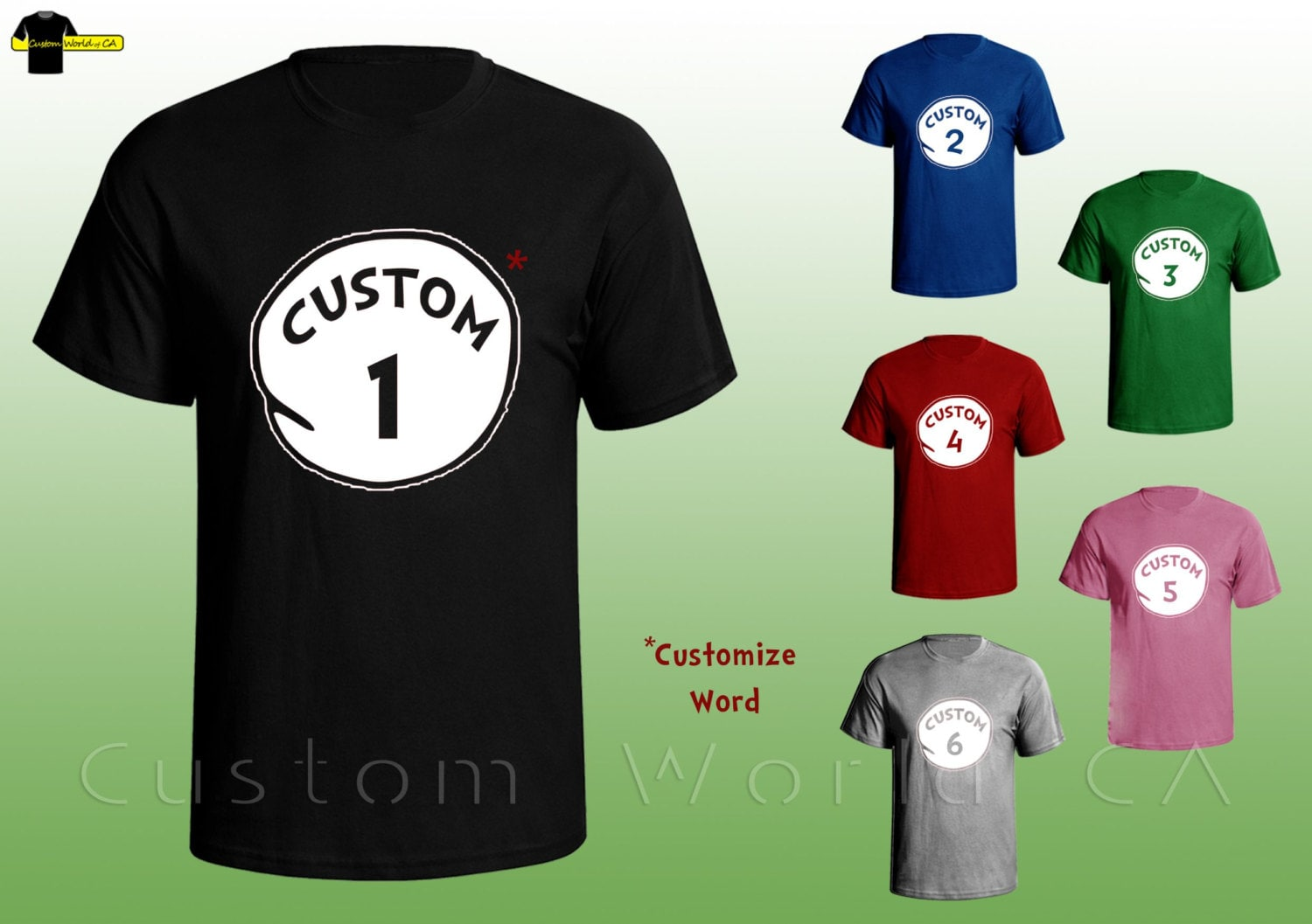 Custom Your Thing Shirts Put Your Own Word Thing By