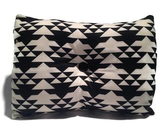 Black and White Decorative Throw Pillow, Home Decor