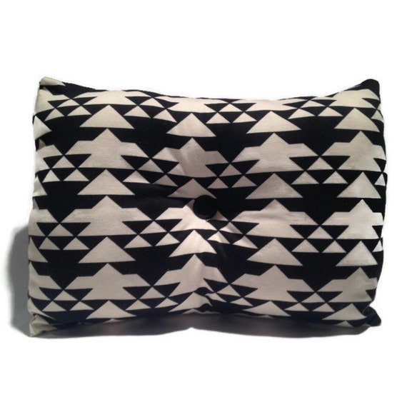 Black And White Decorative Throw Pillows : Black and White Decorative Throw Pillow Home Decor