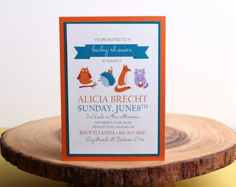 Baby Shower Invitation- look 25