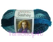 SALE! JIVE Boutique Sashay Yarn Red Heart Sashay Ruffle yarn ribbon yarn, Rumba, ruffle scarf, fluffy yarn, blue ruffle yarn, fun scarf yarn