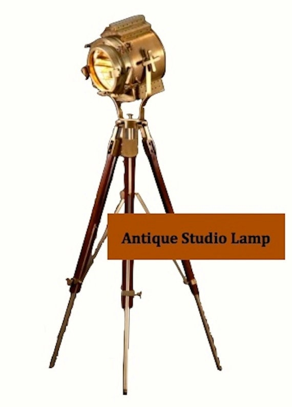 Items similar to hollywood studio floor lamp on etsy for 1940s hollywood studio floor lamp