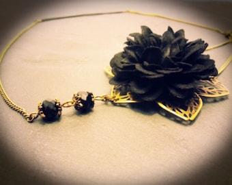 "Vintage Headband / head jewel ""Adélaïde"""