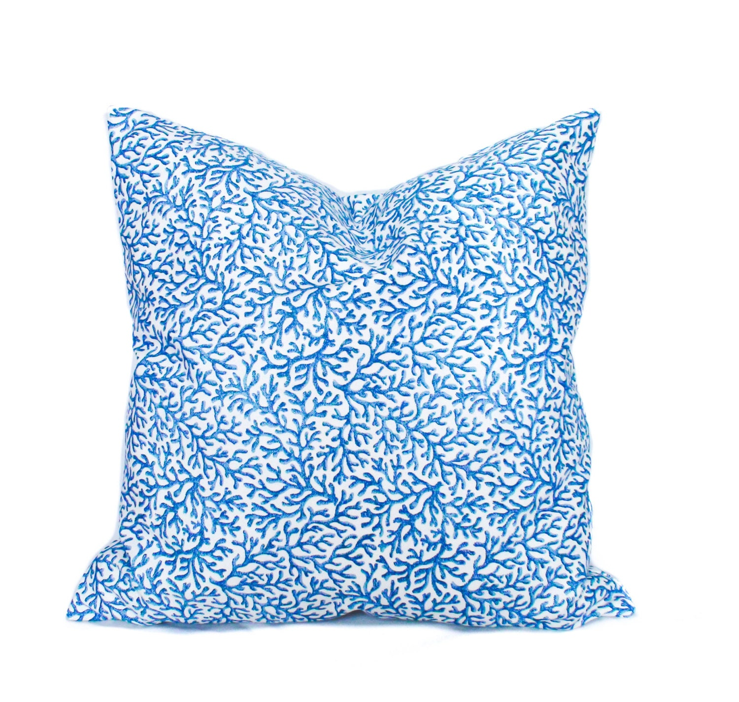 Decorative Pillows Blue : Blue throw pillows 18x18 Blue decorative pillows by PillowCorner