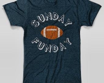 Denver Broncos T-Shirt Sunday Funday Football Shirt
