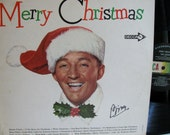 Bing Crosby Merry Christmas LP Record