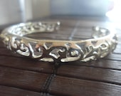 Sterling Silver  Cuff Bracelet, gift for her