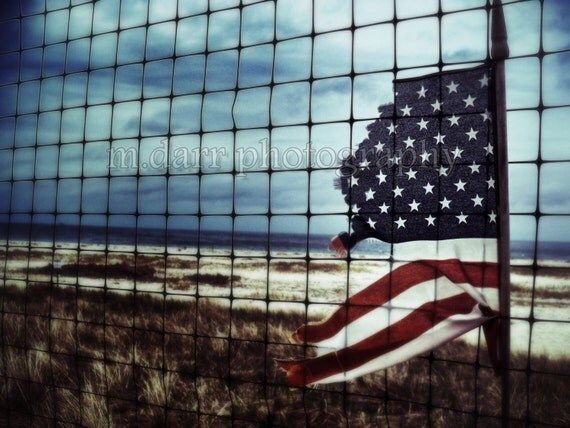 American Flag, Symbolic, A Country Left Tattered and Torn, Patriotism
