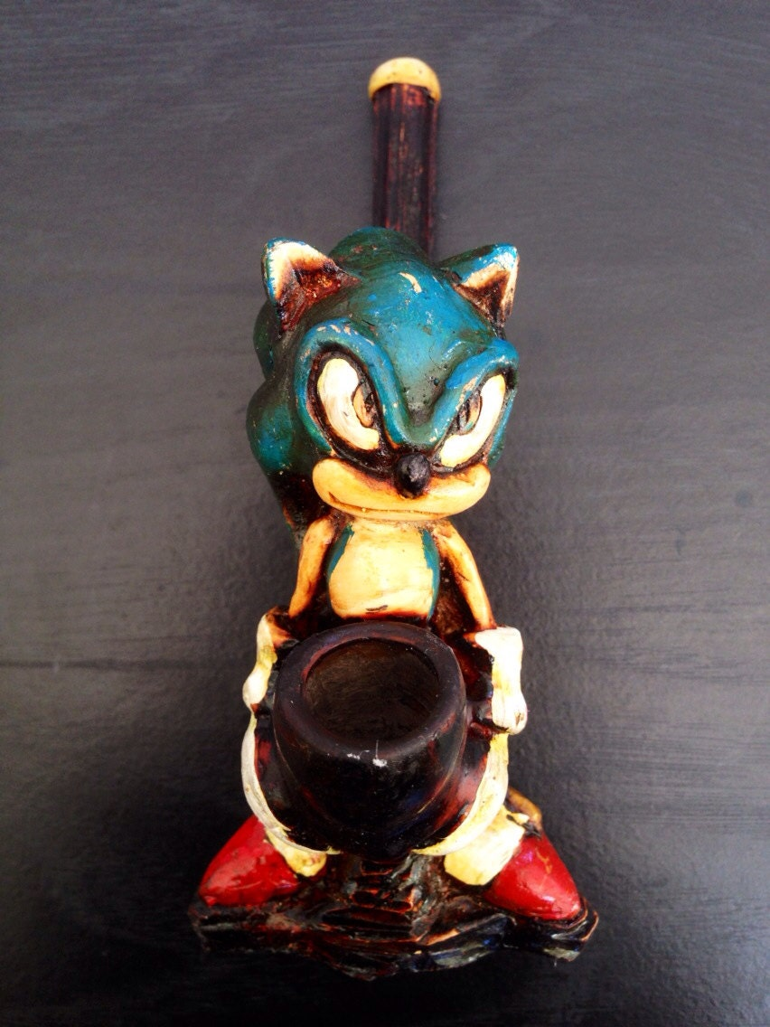 handmade bongs sonic the hedgehog smoke pipe handmade 8525