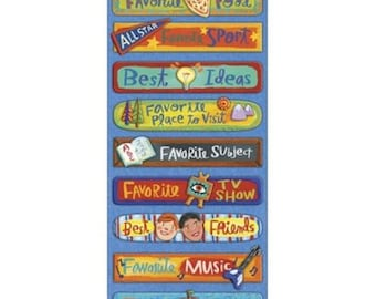 K & Company Donna Ingemanson Rough and Tumble FAVORITES Adhesive Chipboard